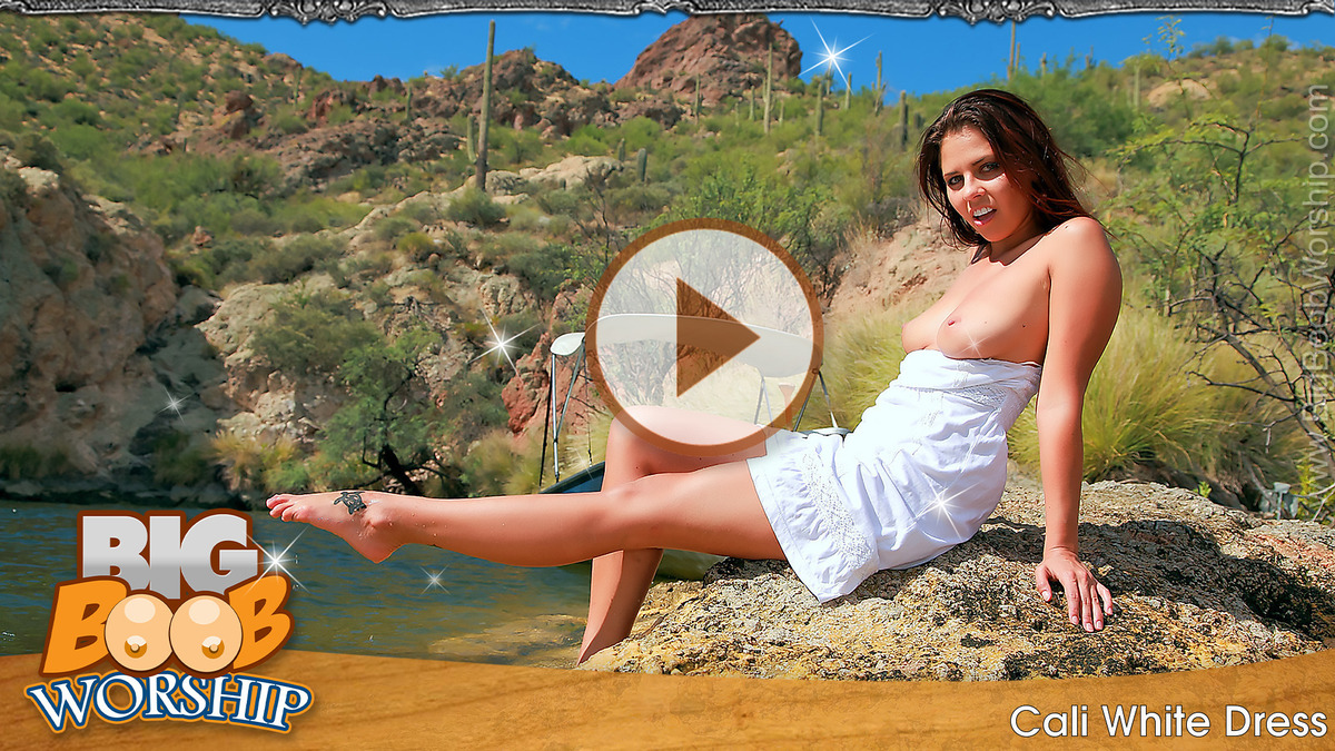 Cali in White Dress - Play FREE Preview Video!
